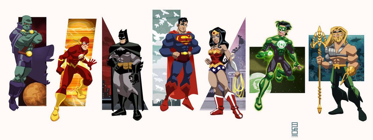 DC Universe Vol.1: JLA by alexmax