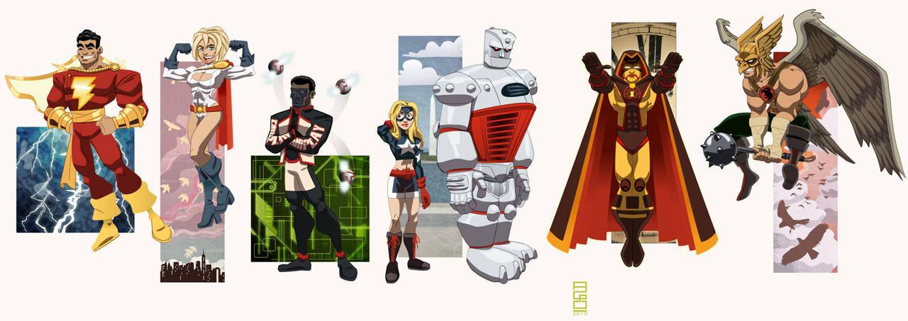 DC Universe Vol. 5: JSA by alexmax