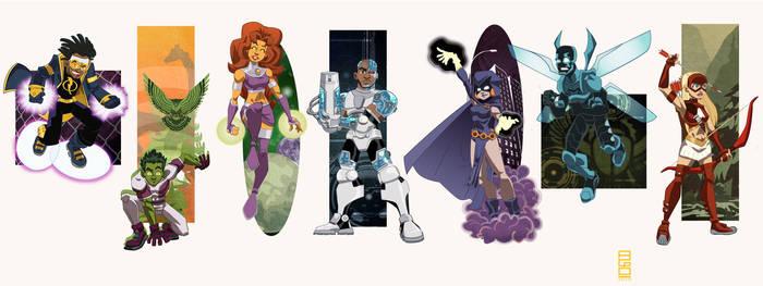 DCU Vol.8: Teen Titans by alexmax