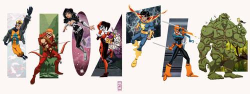 DC Universe Vol. 10: Fan Faves by alexmax