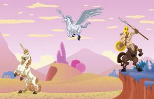 Mythological Horses by alexmax