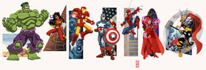 Marvel Universe Vol1: Avengers by alexmax