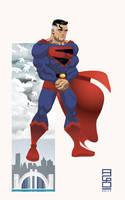 DCU: Kingdom Come Superman by alexmax