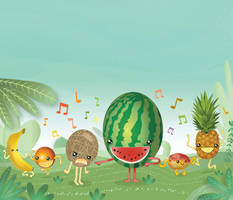 Dancing Fruits by alexmax