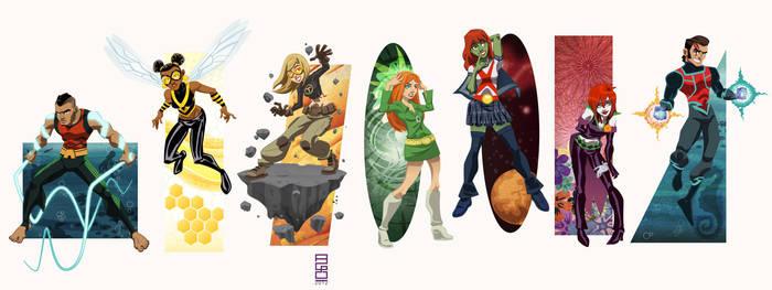 DCU Vol. 16: Teen Titans West by alexmax