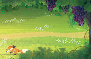 The Fox and the Grapes by alexmax