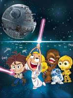 Star Wars Tribute B by alexmax