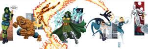Marvel Vol.3 Fantastic Four by alexmax