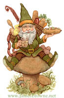 Gorman the Gnome by yaamas