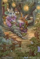 Bunny Love by yaamas