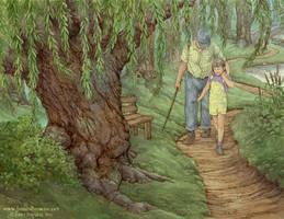 Willow Walk by yaamas