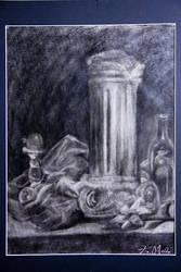 Still charcoal by KassyOh