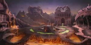 Dragon city by PhanouArt