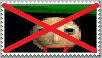 Anti-Baldi Stamp by JCFanfics