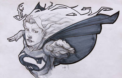 supergirl by ozguryildirim