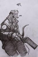 hellboy by ozguryildirim