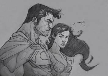 Superman-Lois by ozguryildirim