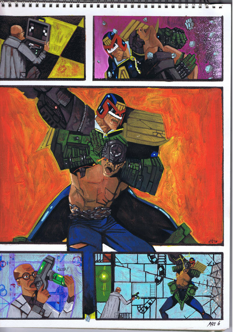 Judge Dredd v Mean Machine 1997 by sigma958