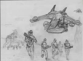 Clone Troopers by MaXimUm-n0tE