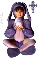 Easter Kid by sweetpoison67