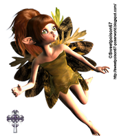 Chibi fairy by sweetpoison67