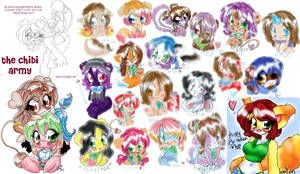 the chibi army by cari