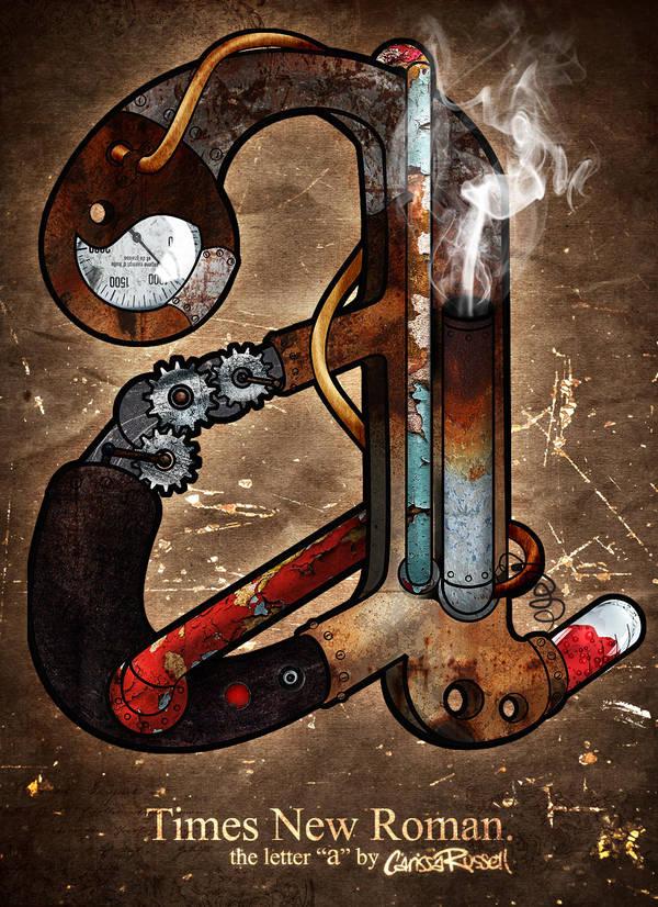 Steampunk A by cari