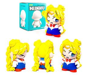 Custom Sailor Moon Munny by cari