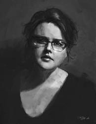 Self Portrait by cari