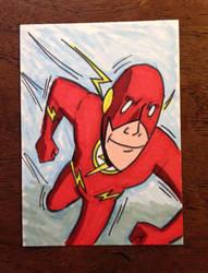 Flash Sketch Card by madscott