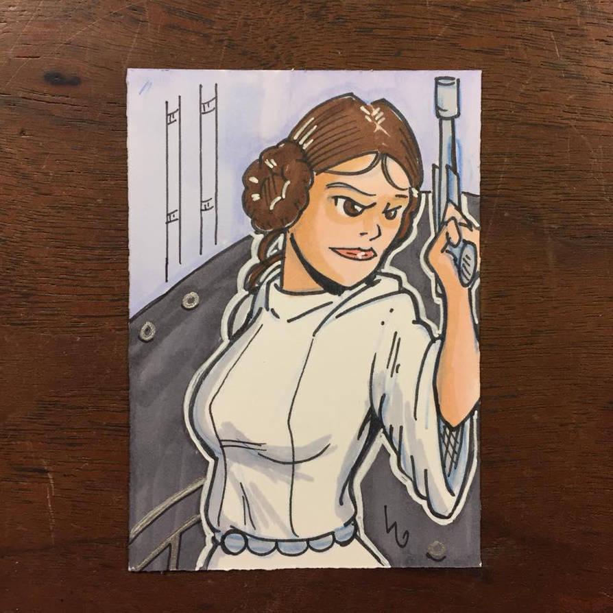 Princess Leia by madscott