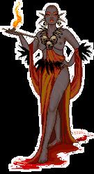 Sorceress by Baphometin
