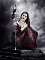 Vampire Warrior by Eternal-Dream-Art