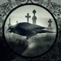 Portrait Of a Crow by Eternal-Dream-Art