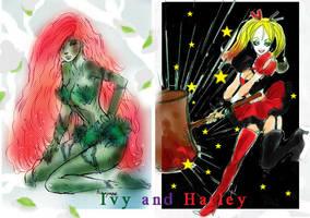 Ivy and Harley by La-h-i-n-a-y-u-m-e