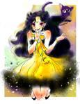 Sailor moon-human Luna- by La-h-i-n-a-y-u-m-e