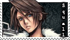 Final fantasy 8 Squall stamp by grapsen
