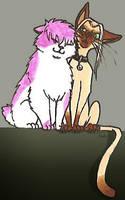 411 - Kitties by BeagleTsuin