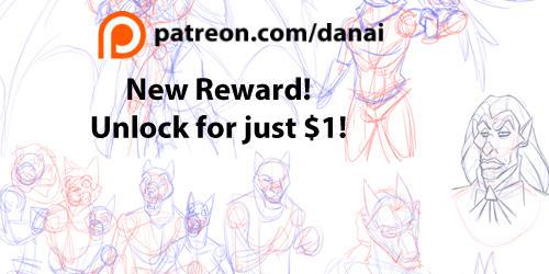 Sketch Dump - Patreon Reward by DragonessDeanna