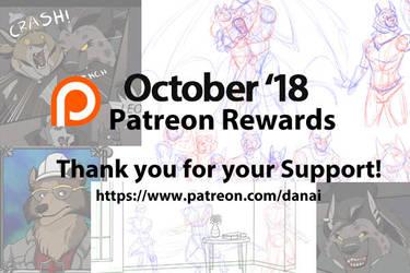 October 18 Patreon Rewards by DragonessDeanna