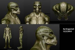 Reptilian by Dragonio3