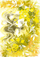 color yellow by RAY-N-BOW