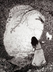 Wendy in Neverland by phantomnova