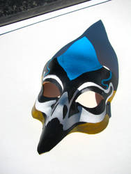 Peacock Mask by jonorr