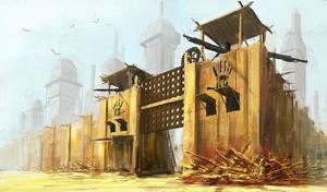 Fallout city by malachi78