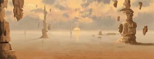 Alien desert by malachi78