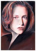 Dana Scully by JankaLateckova