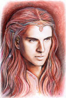 Maedhros portrait by JankaLateckova