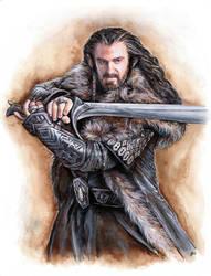 Thorin Oakenshield by JankaLateckova