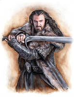 Thorin Oakenshield by JankaLateckova